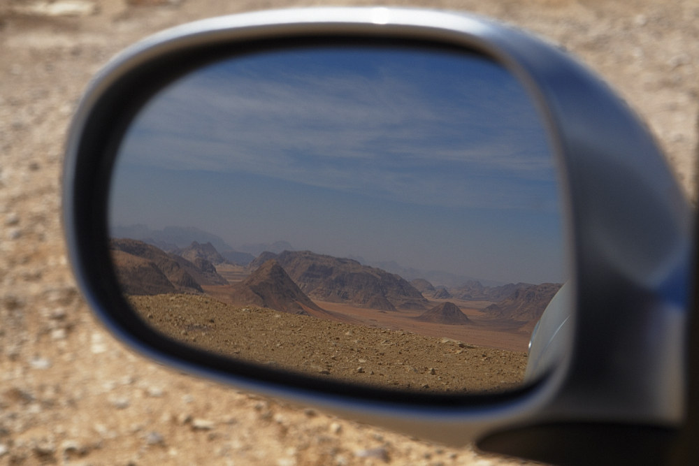 Zeitreise im Wadi Rum